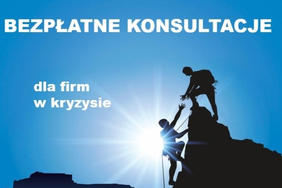 Bezpłatne konsultacje dla firm w kryzysie